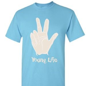 Young Life t-shirt ✨ send kids to camp!